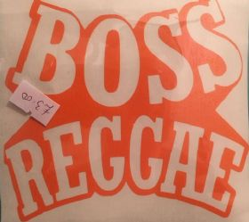 Boss Reggae Orange Sticker